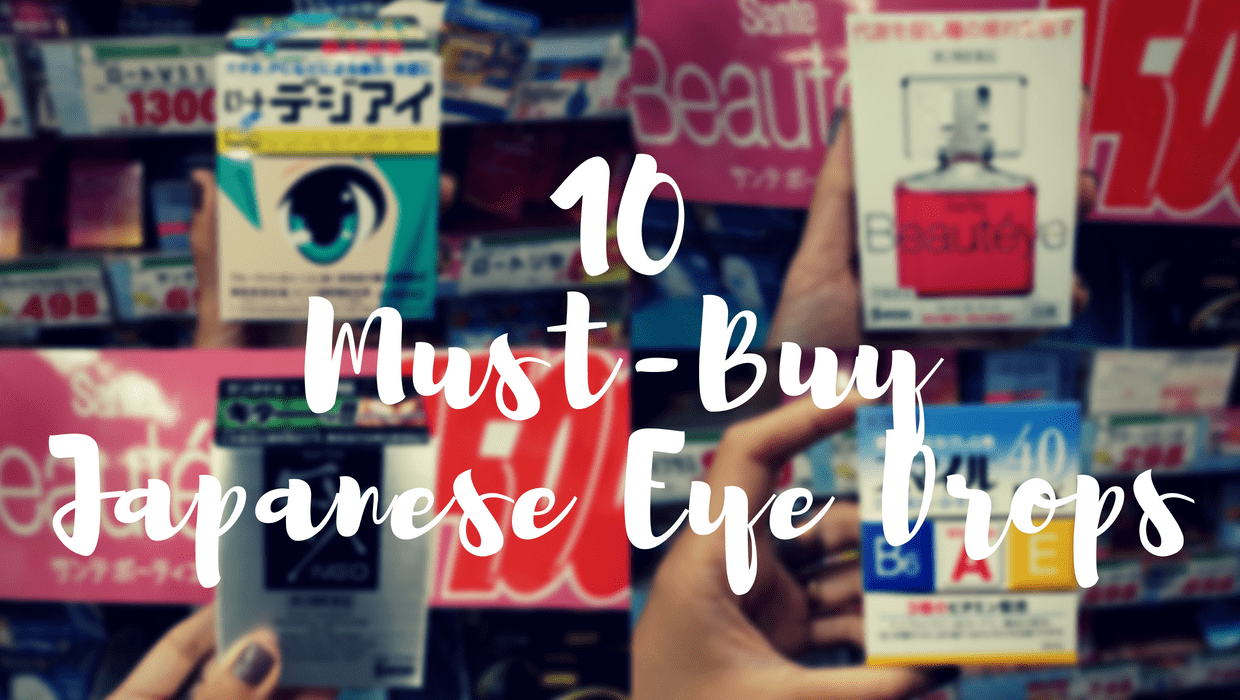 Best selling Japanese eye drops
