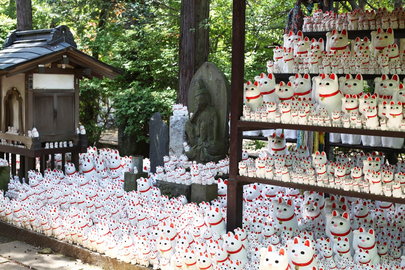Gotokuji Temple a.k.a. the Cat Temple