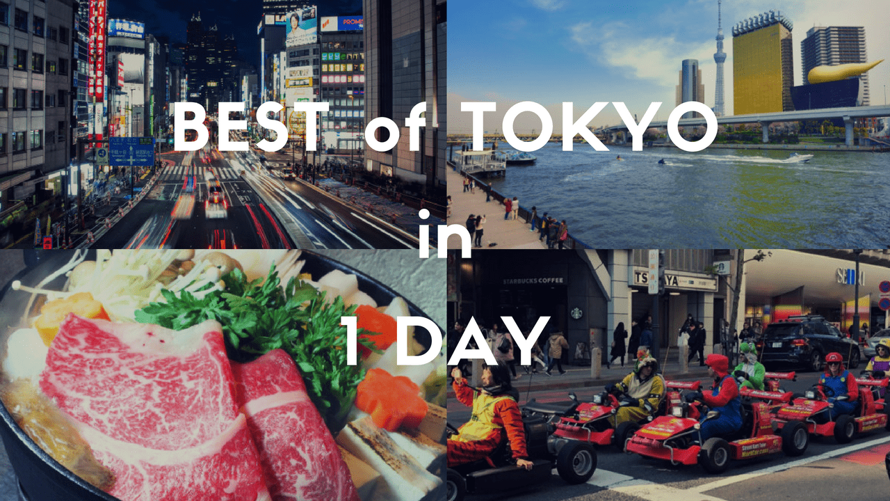 One Day in Tokyo: the Best 1-day Itinerary 2020