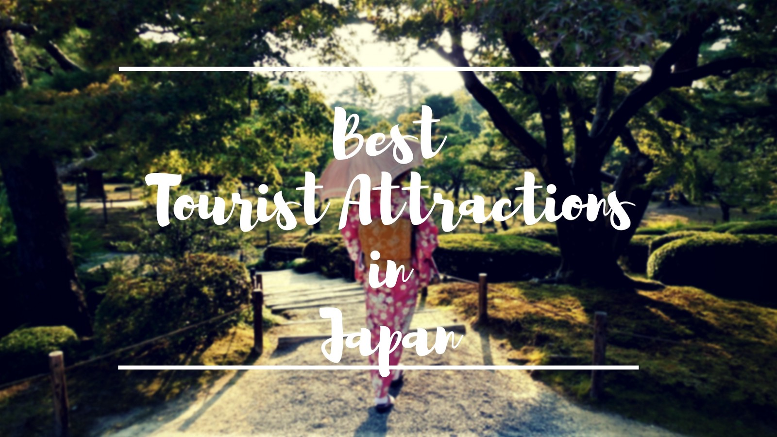 10 Best Japan Tourist Attractions 2019