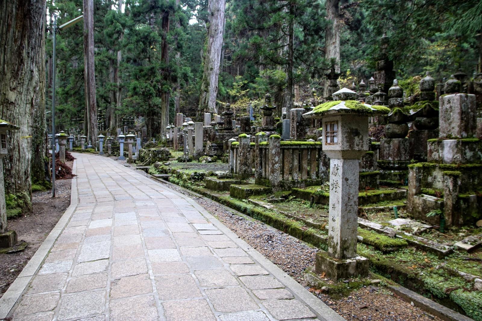 Seryjną ścieżką przez pielgrzyma z Koyasan