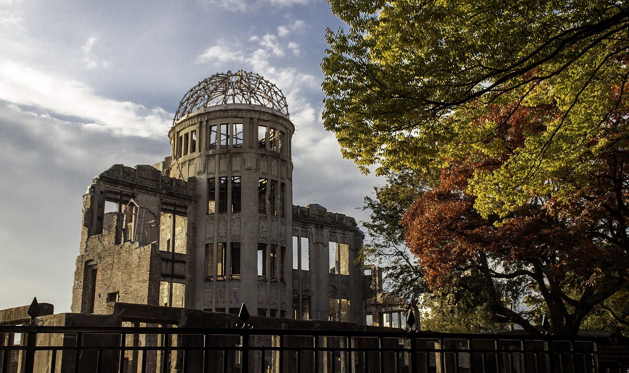 The important historical monument: Hiroshima A-Bomb Dome