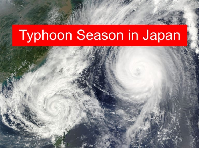 Typhoons over the Japanese Archipelago