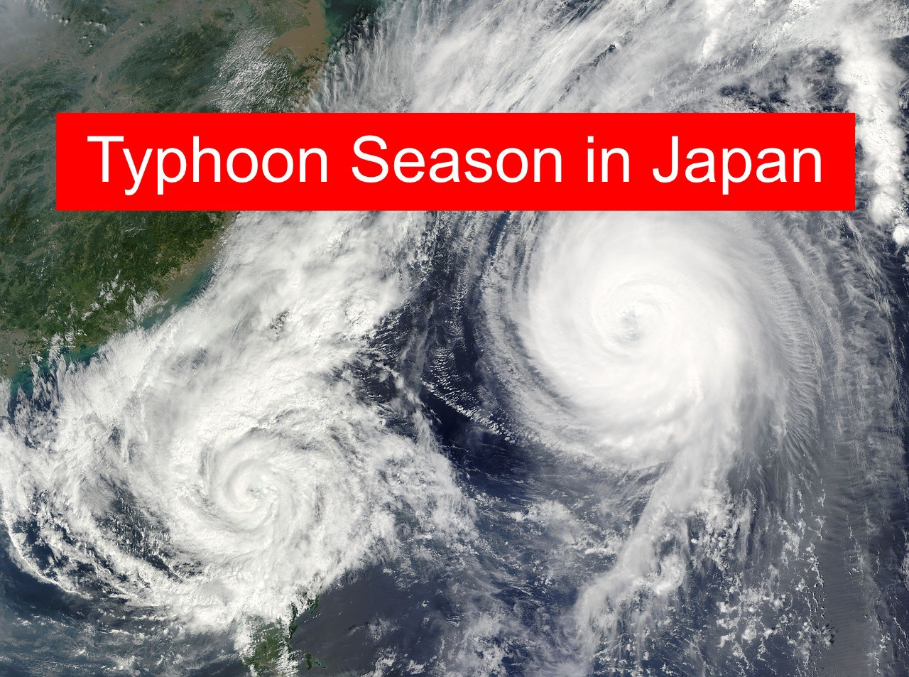 Japan Typhoon Season 2019: Things to Know