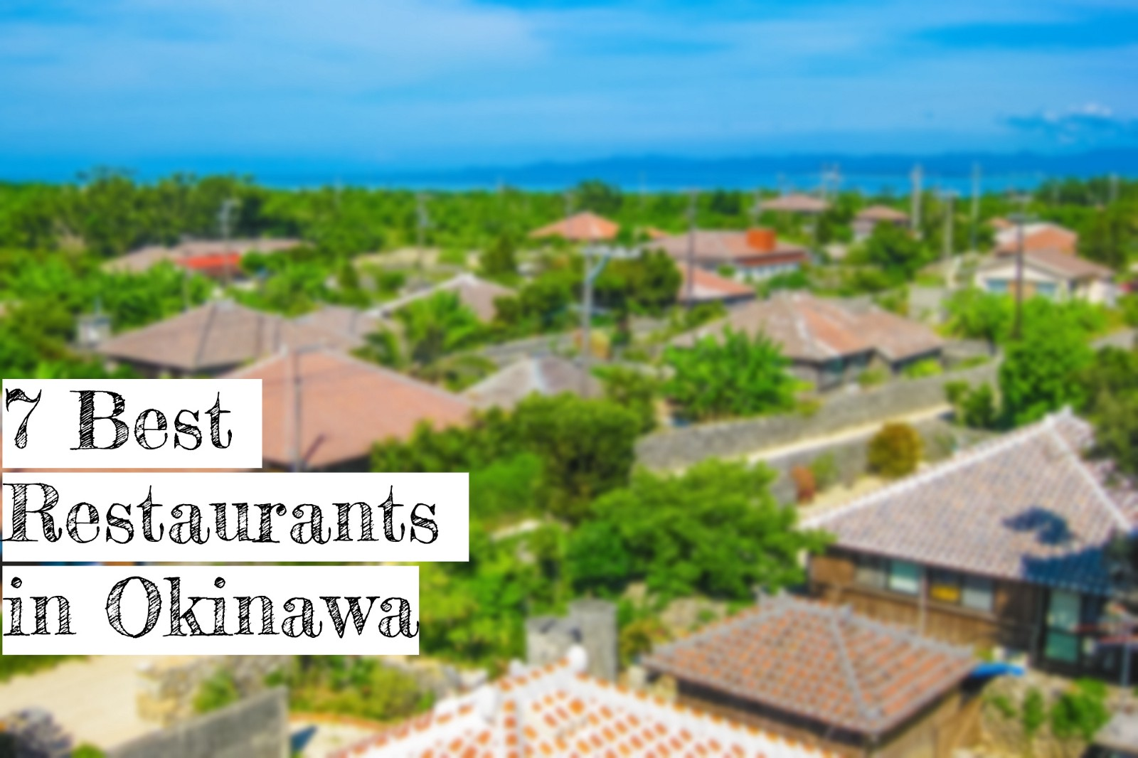 Okinawa Restaurant Guide: 7 Best Restaurants in Okinawa 2020
