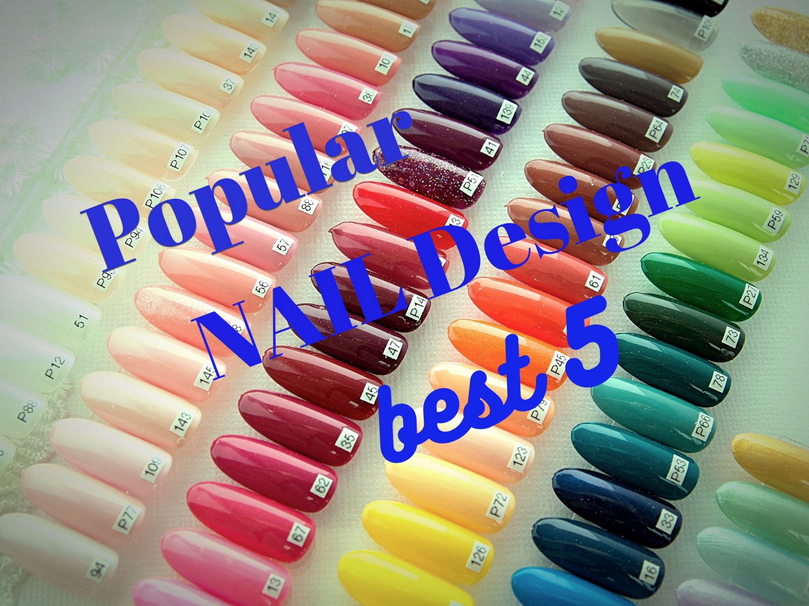 Japanese Nail Art: Top 5 Popular Designs 2019