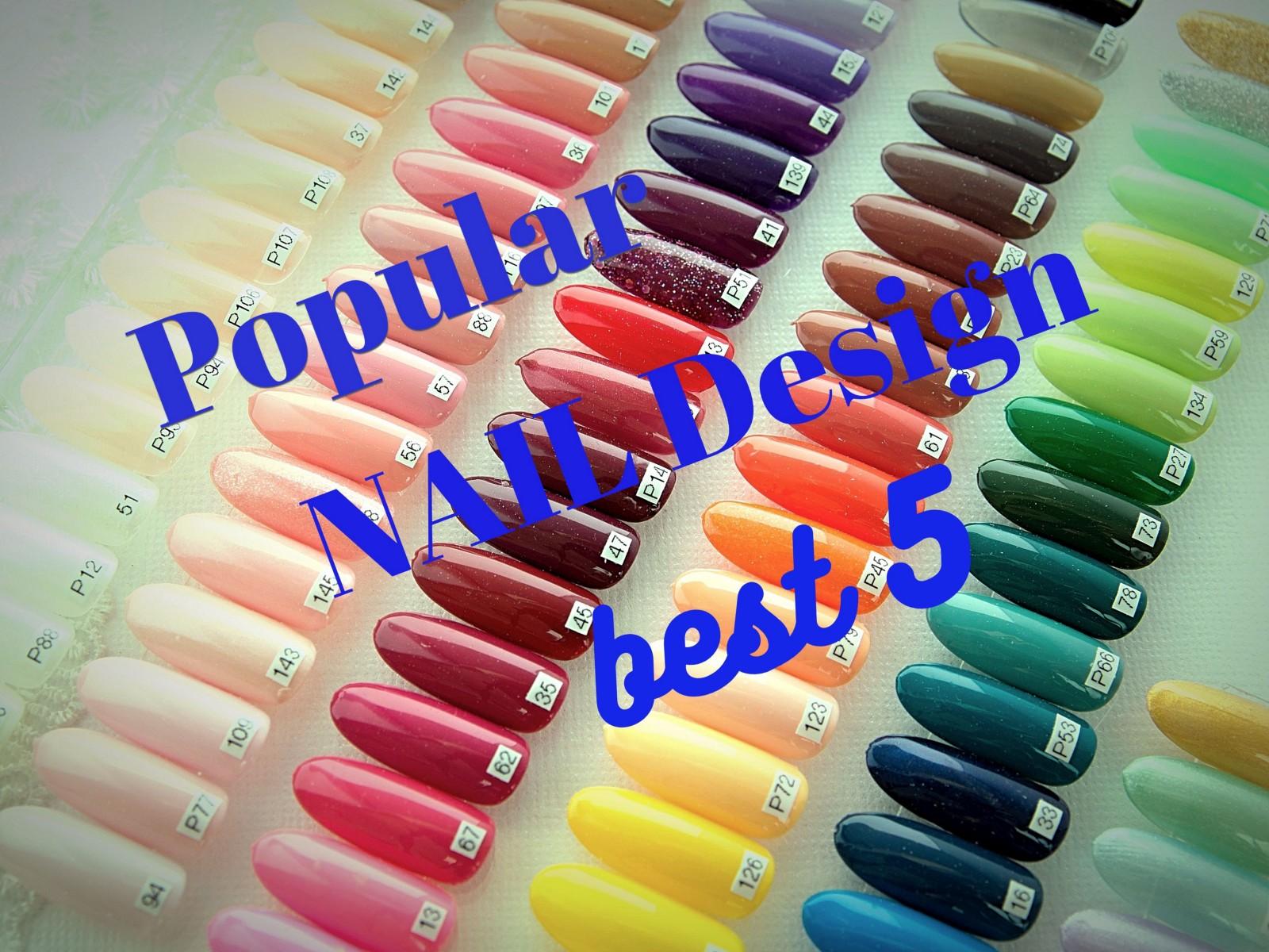 Japanese Nail Art: Top 5 Popular Designs 2019