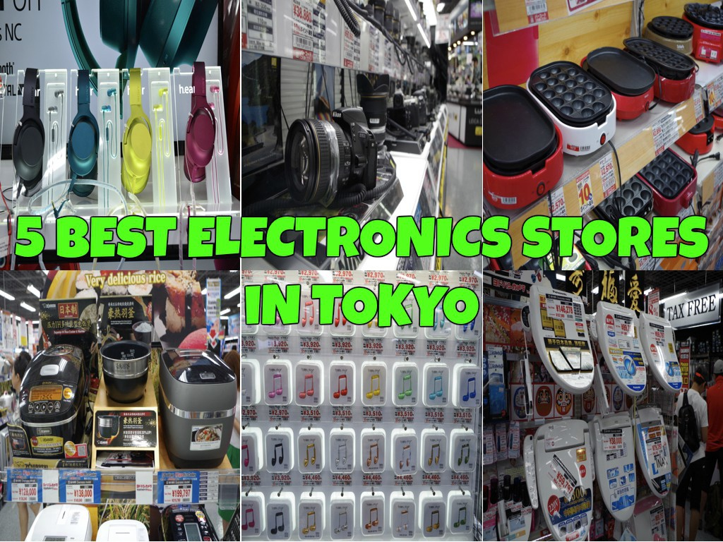 5 Best Electronics Stores in Tokyo - Japan Web Magazine