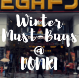 What to Buy at Don Quijote in Japan Winter
