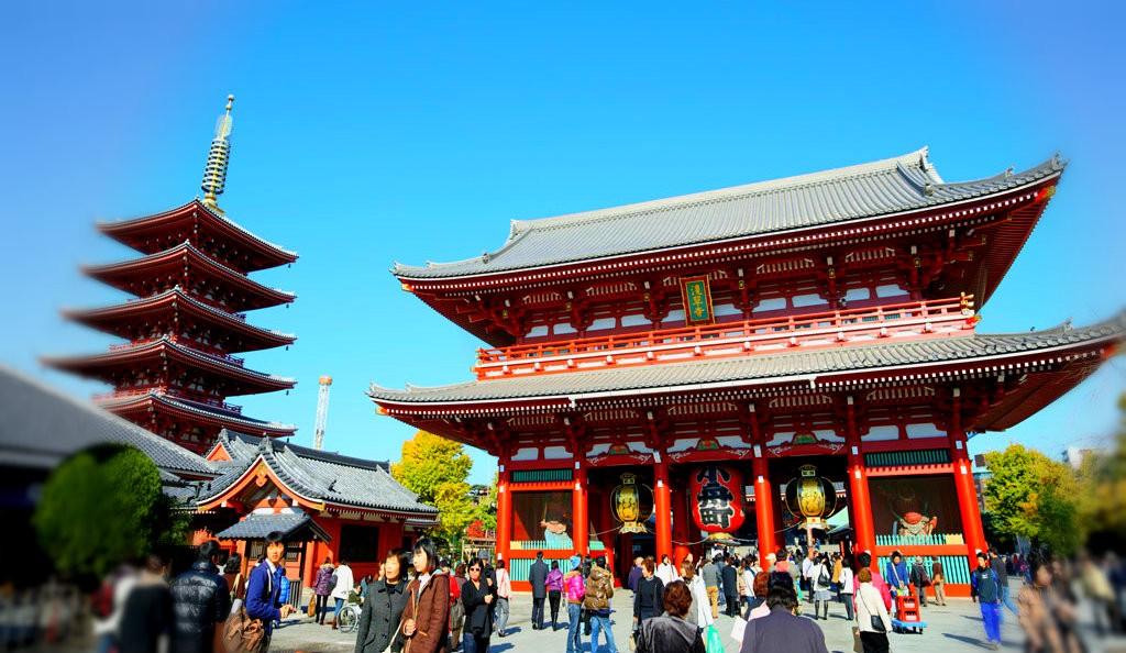 Sensoji Temple in Asakusa Tokyo