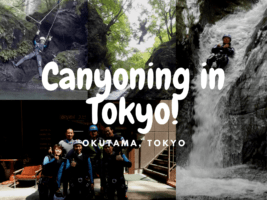 Canyoning in Tokyo: the Wildest Spot in Tama