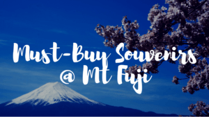 What to Buy at Mt Fuji