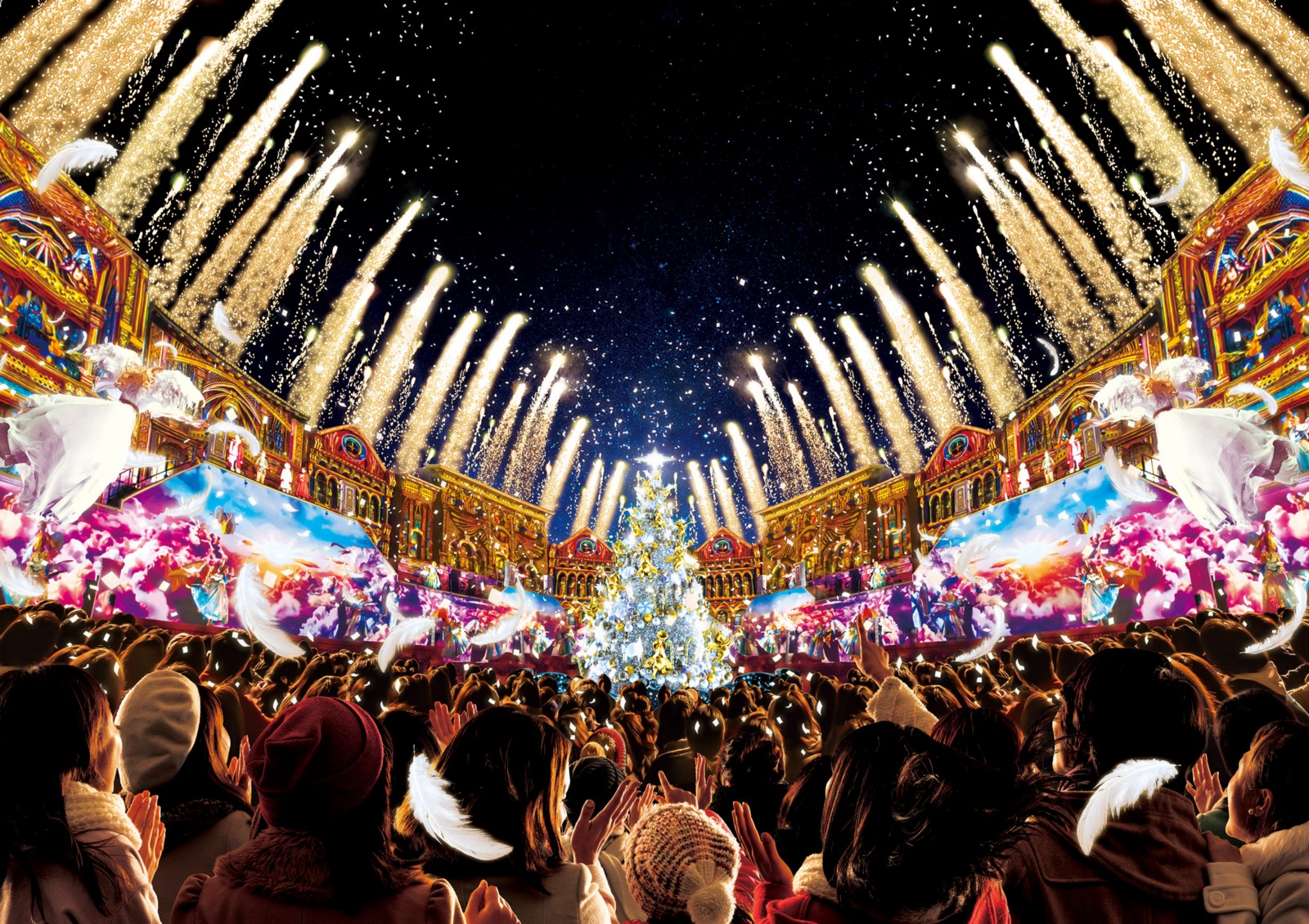 Universal Studios Christmas.2018 Universal Studios Japan Christmas Japan Web Magazine