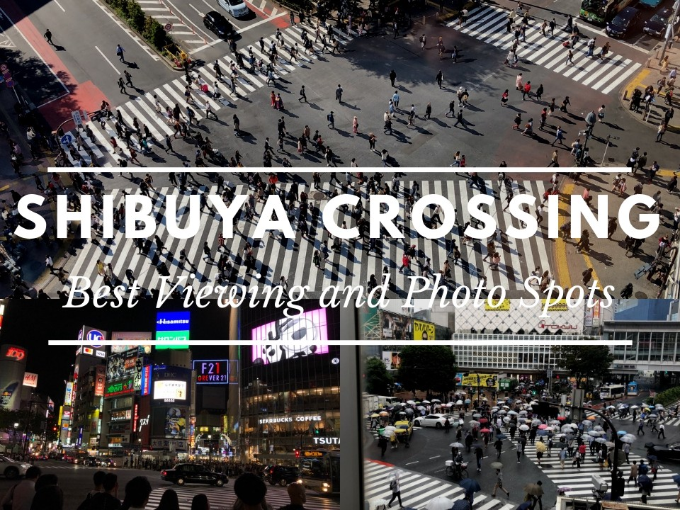 Best Places to Take Photos of Shibuya Crossing