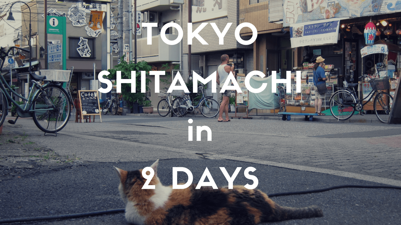 2 Days Itinerary in Tokyo: SHITAMACHI the Old Downtown