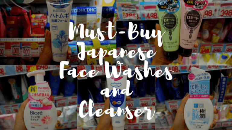Best Japanese Face Washes and Cleansers