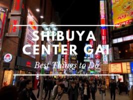 Shibuya Center Gai: Best Things to Do