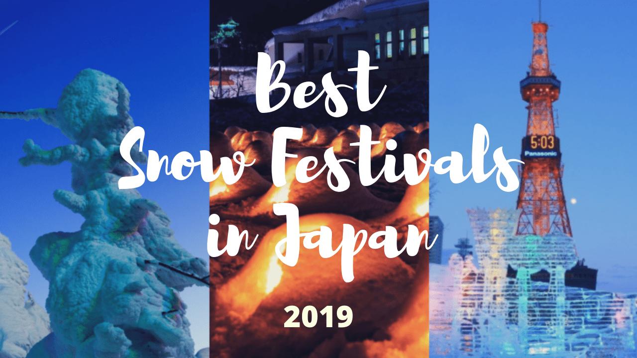 7 Best Snow Festivals in Japan 2019 - Japan Web Magazine