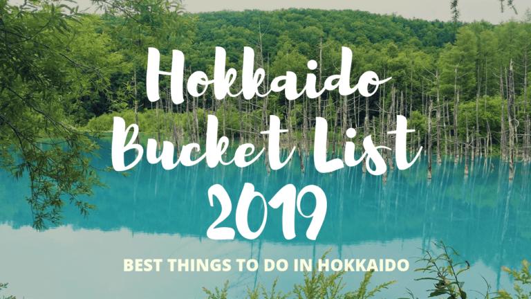 Hokkaido Bucket List