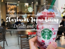 Starbucks Japan's Tumblers and Drinks