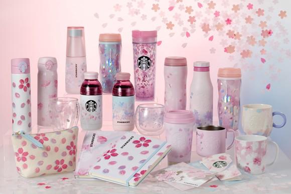 Starbucks Japan Sakura Tumblers and Mugs 2019
