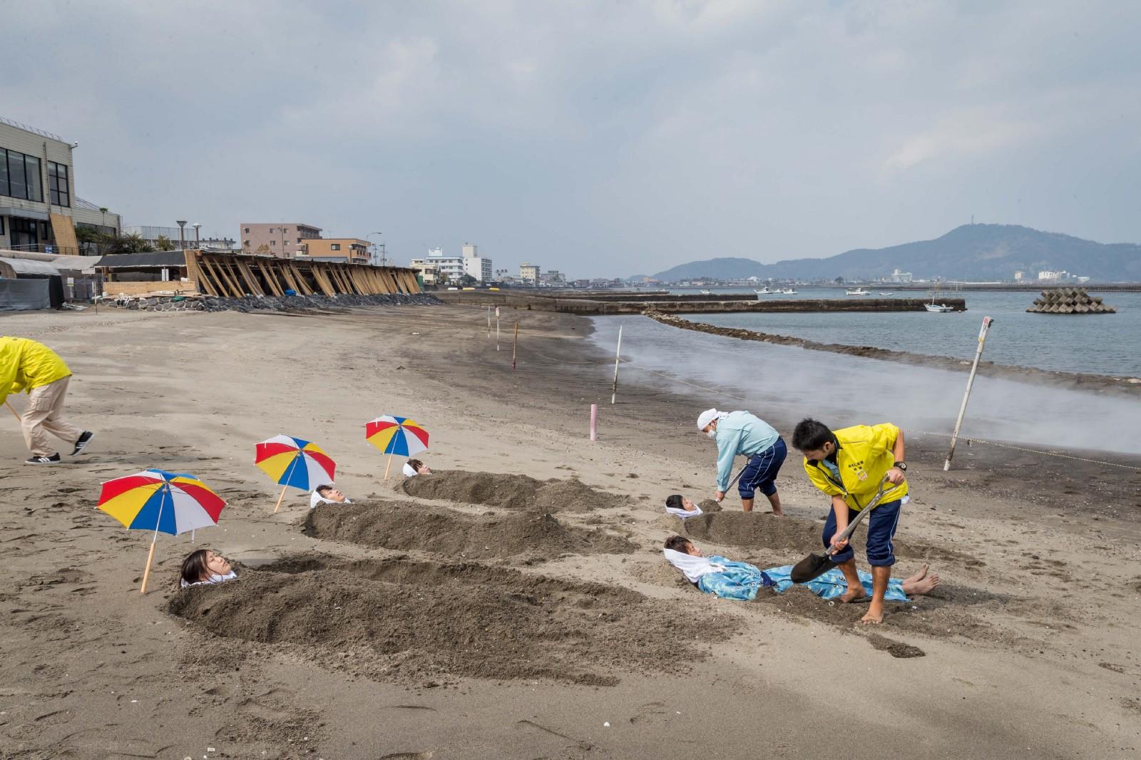 Ibusuki Sand Bath: Unique Onsen Town in Kagoshima!