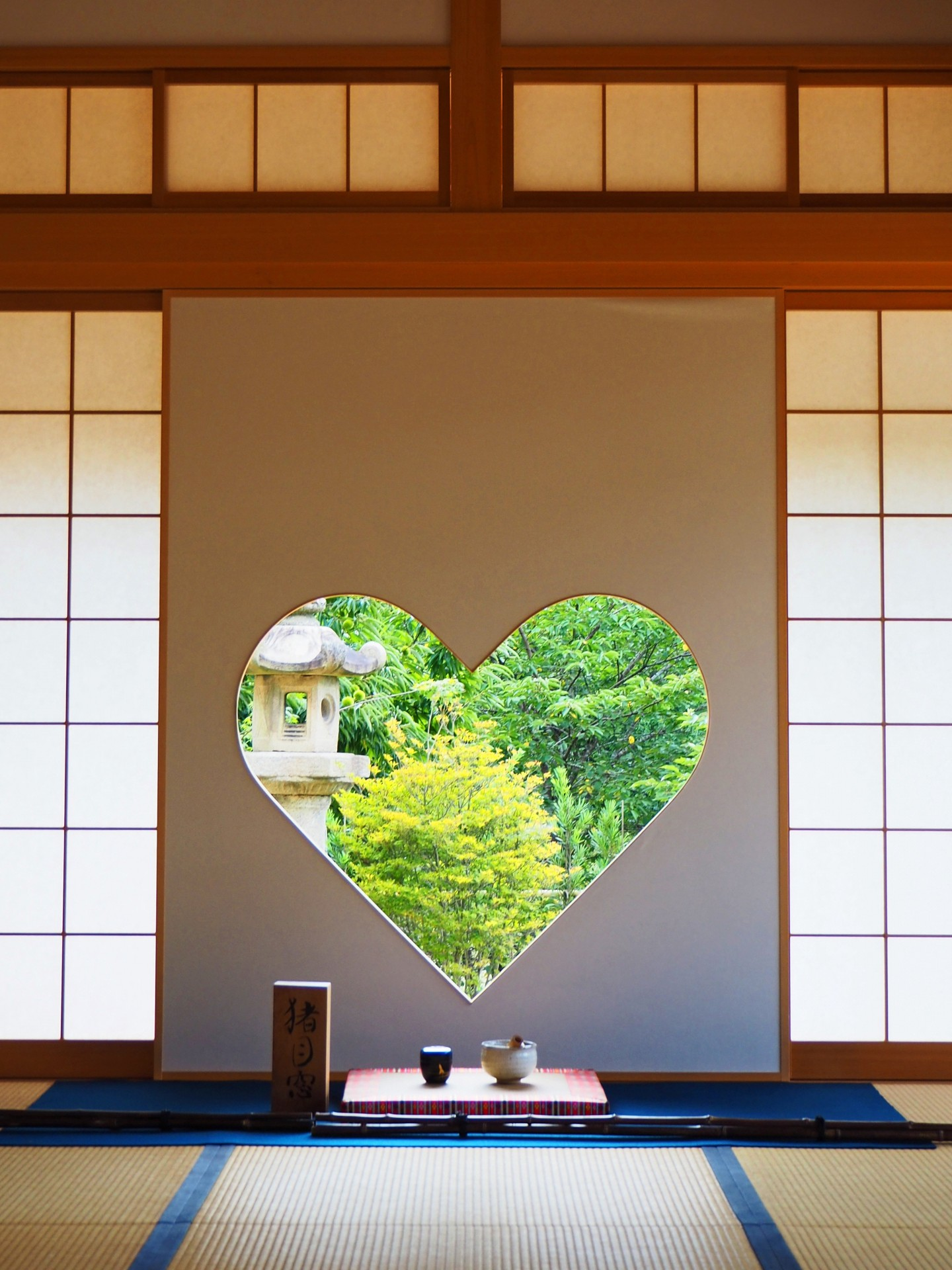 Instagram-Worthy window at Shojuin Temple, Kyoto