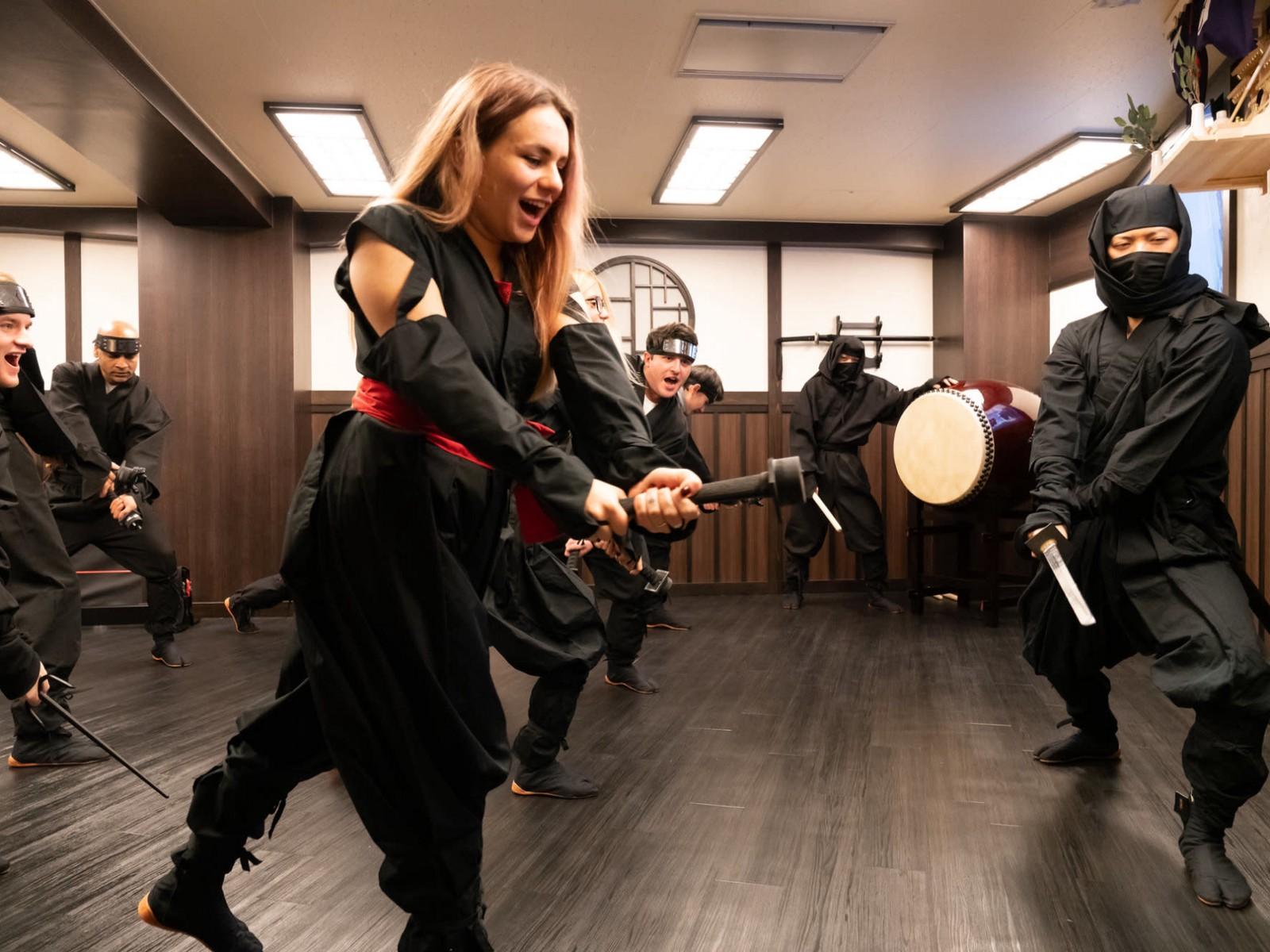 VR NINJA DOJO: Best Ninja Experience in Tokyo!
