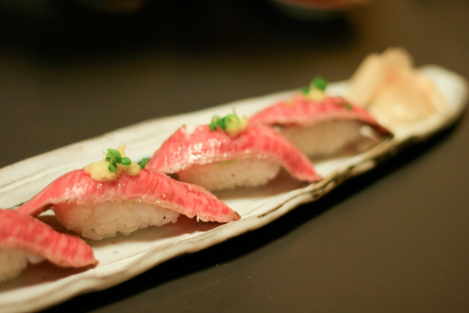Meat Sushi : Best NIKUZUSHI Restaurants in Tokyo