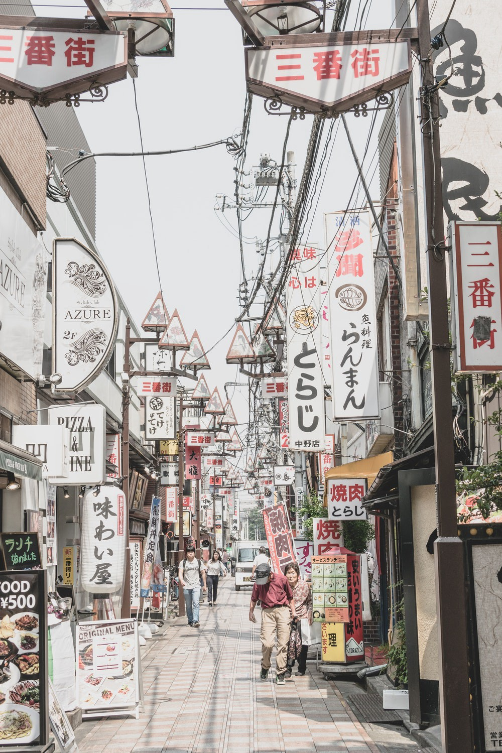 Shopping streets in Nakano