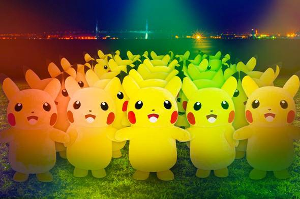 Pikachu Outbreak 2019 in Yokohama
