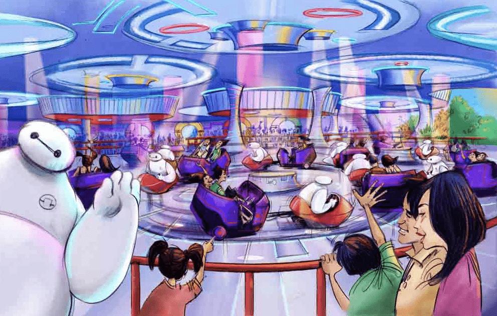 Tokyo Disneyland Big Hero 6 (Baymax)-themed ride