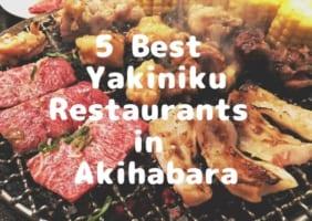 5 Best Yakiniku in Akihabara 2019
