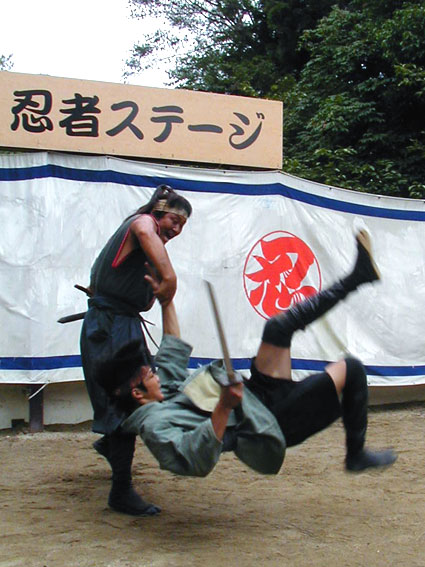 Show at Ninja Museum of Igaryu