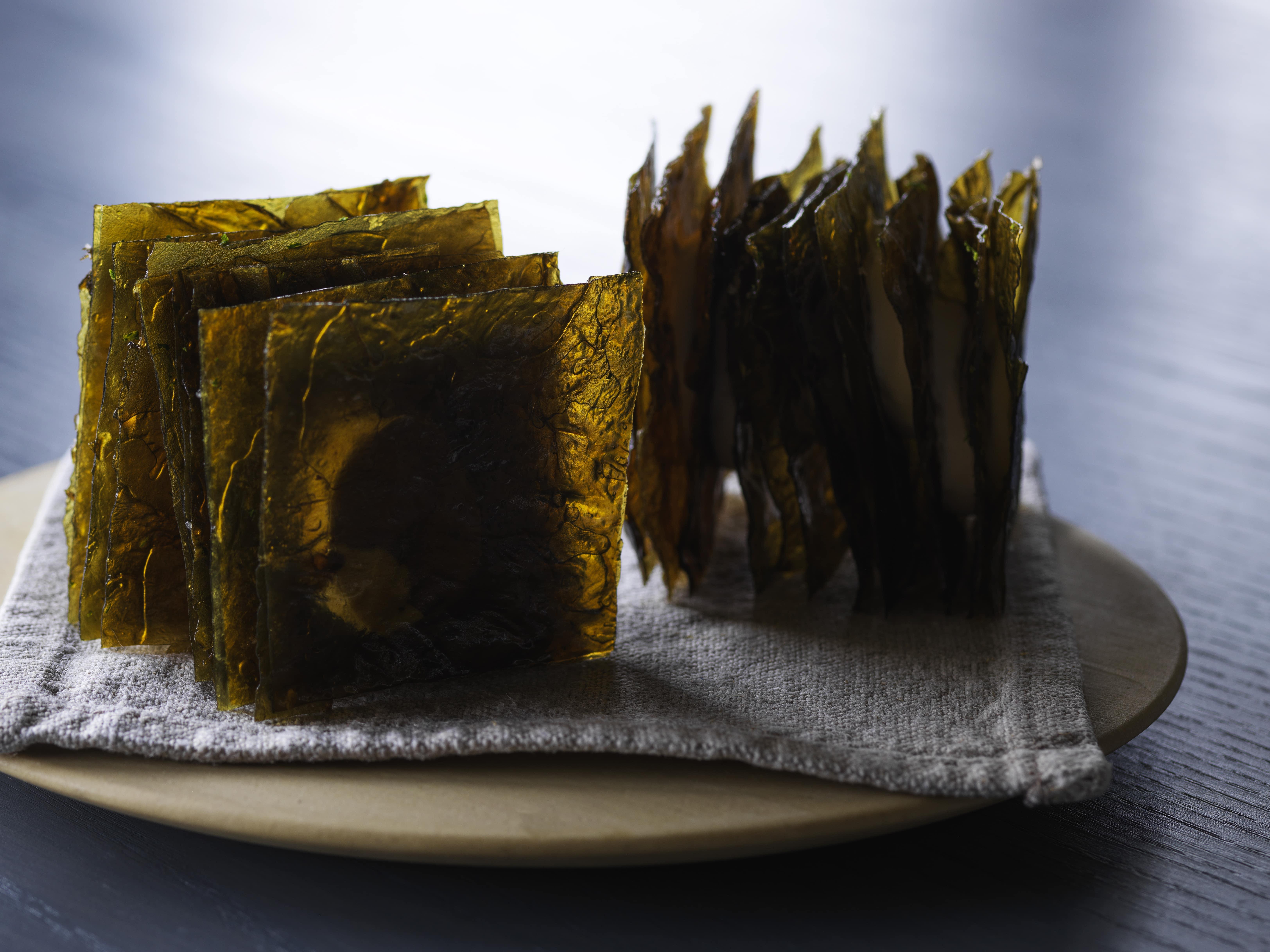 Seaweed mille-feuille