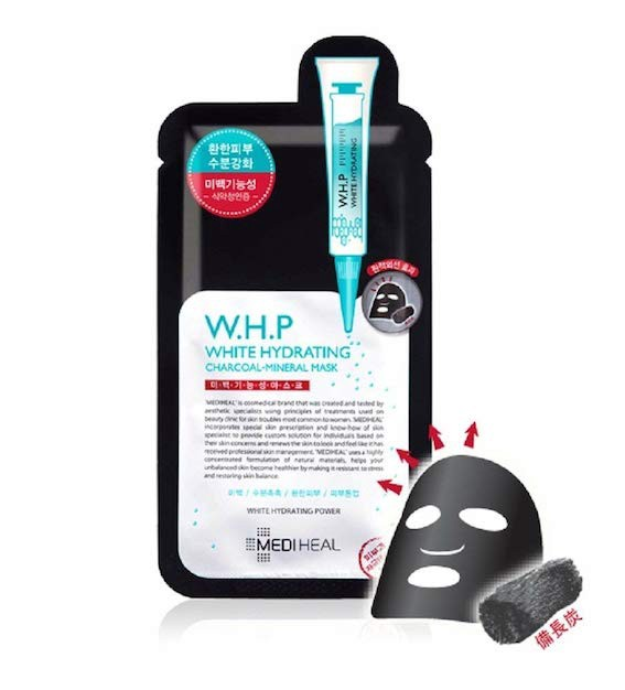 MEDIHEAL W.H.P White Hydrating Charcoal-Mineral Mask