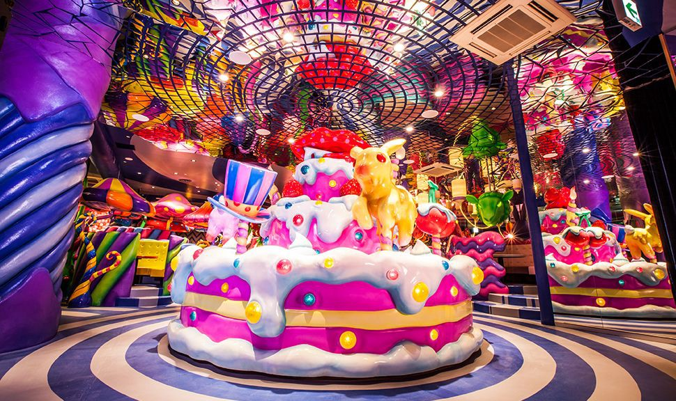 Kawaii Monster Cafe, Iconic Cafe in Tokyo