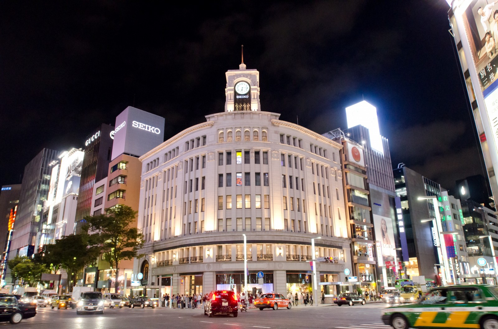 Ginza Wako: The iconic building in Ginza