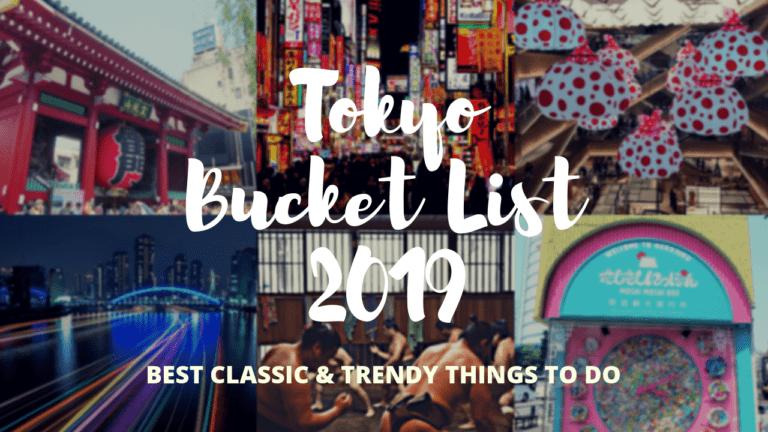 Tokyo Bucket List