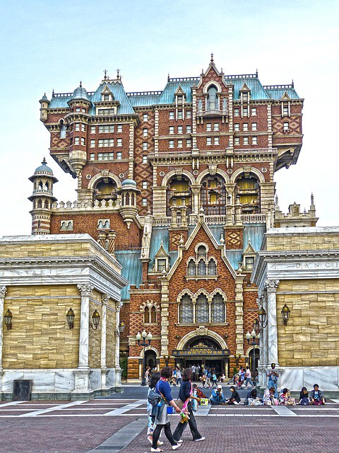 The Tower of Terror at Tokyo DisneySea