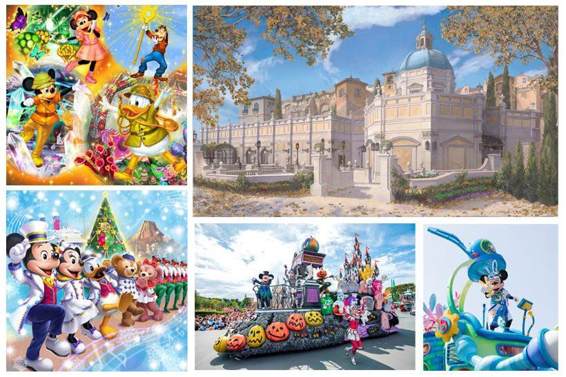 Tokyo Disneyland & DisneySea Event Schedule 2019