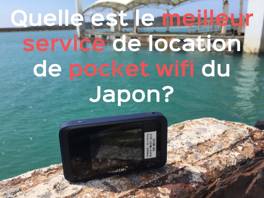 Rester connecté au Japon: Quel est le meilleur service de location de pocket wifi?
