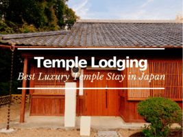 Best Luxury Temple Lodging in Japan