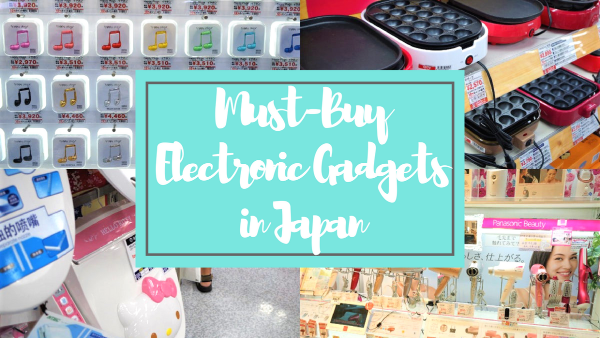 7 Best Japanese Electronic Gadgets to Buy 2020