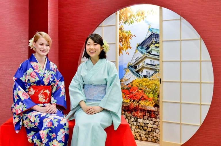Kimono Rental at Maikoya in Kyoto