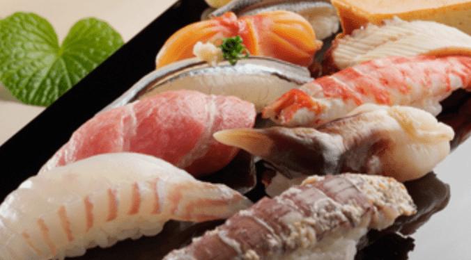 Sushi at Sushizen in Sapporo