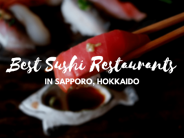 5 Best Sushi in Sapporo