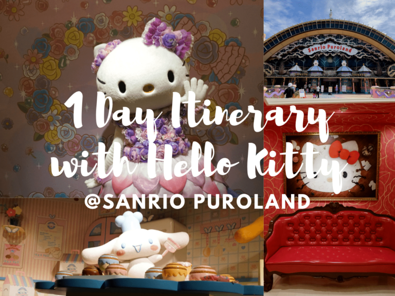 1 Day Itinerary at Sanrio Puroland