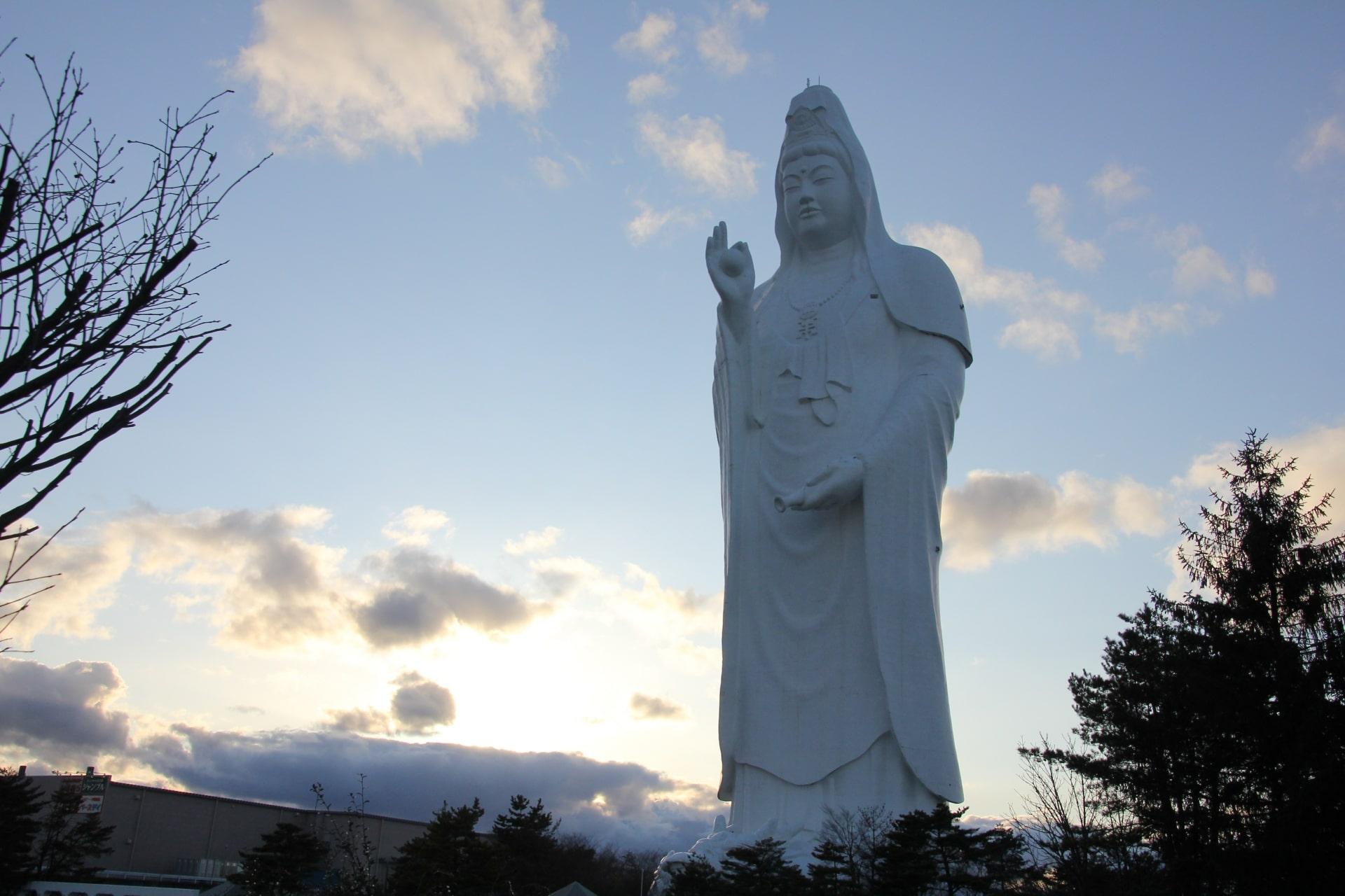 Sendai Daikannon Buddha