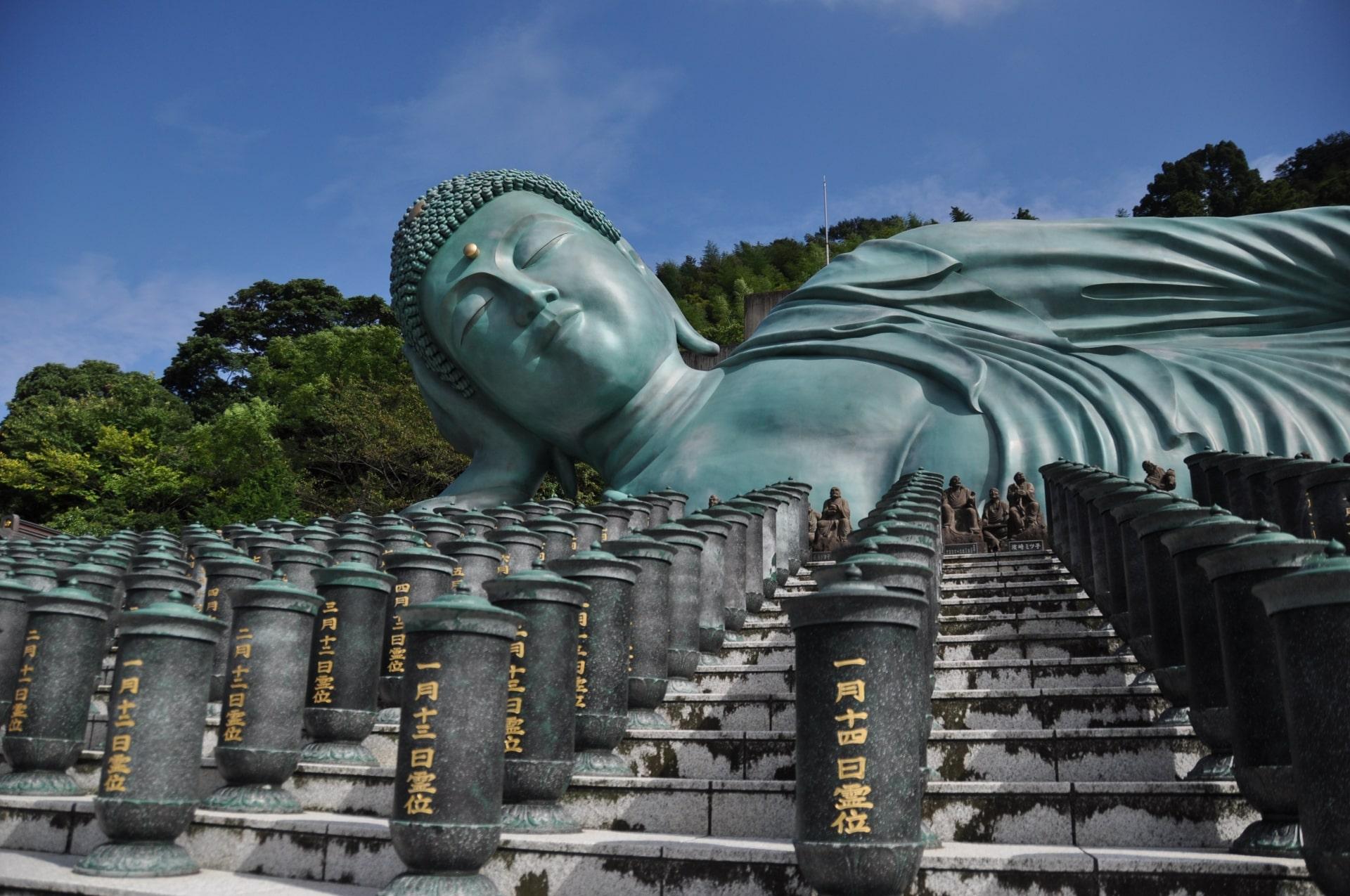 Nanzoin Temple Buddha inFukuoka